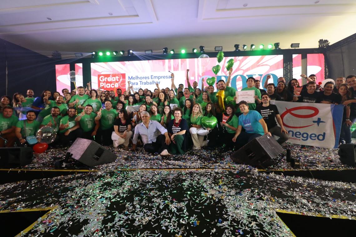 Evento de premiação das melhores empresas para trabalhar no Ceará em 2019.  (Alex Gomes/O Povo)