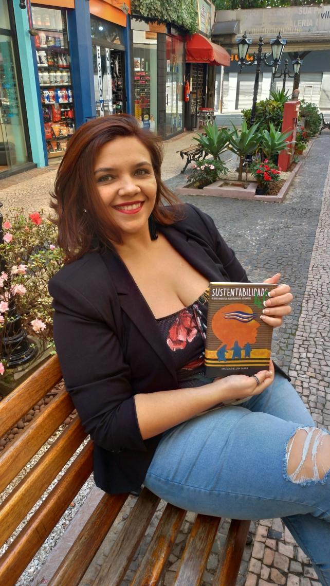 Ambientalista Magda Maya lança, em dezembro, em Fortaleza, o livro