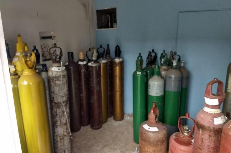 Gás encontrado em empresa