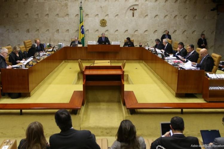 Plenário do STF (Foto: AGÊNCIA BRASIL)
