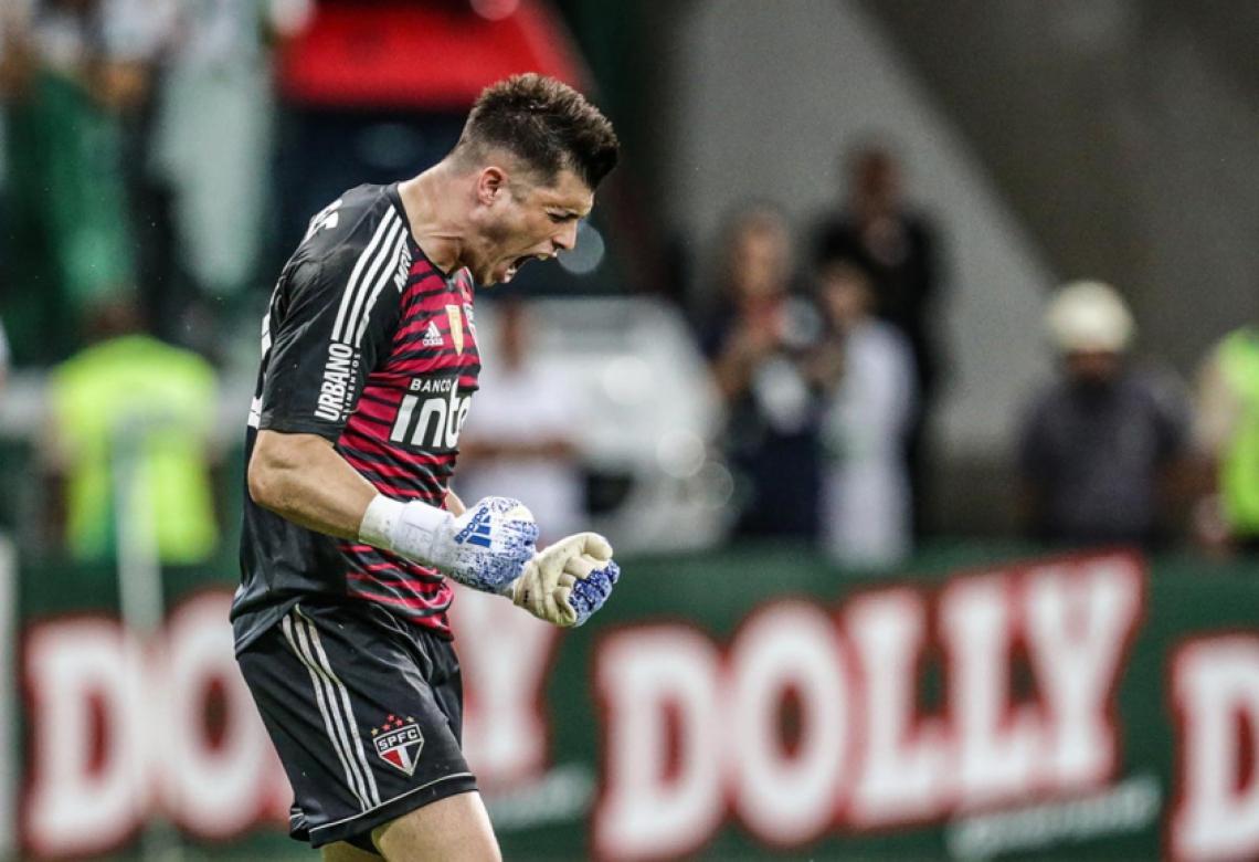 São Paulo, do goleiro Thiago Volpi, tem a defesa menos vazada da Série A