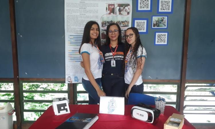 Analice, Gecilane e Marcela orientam o projeto e consideram os resultados positivos