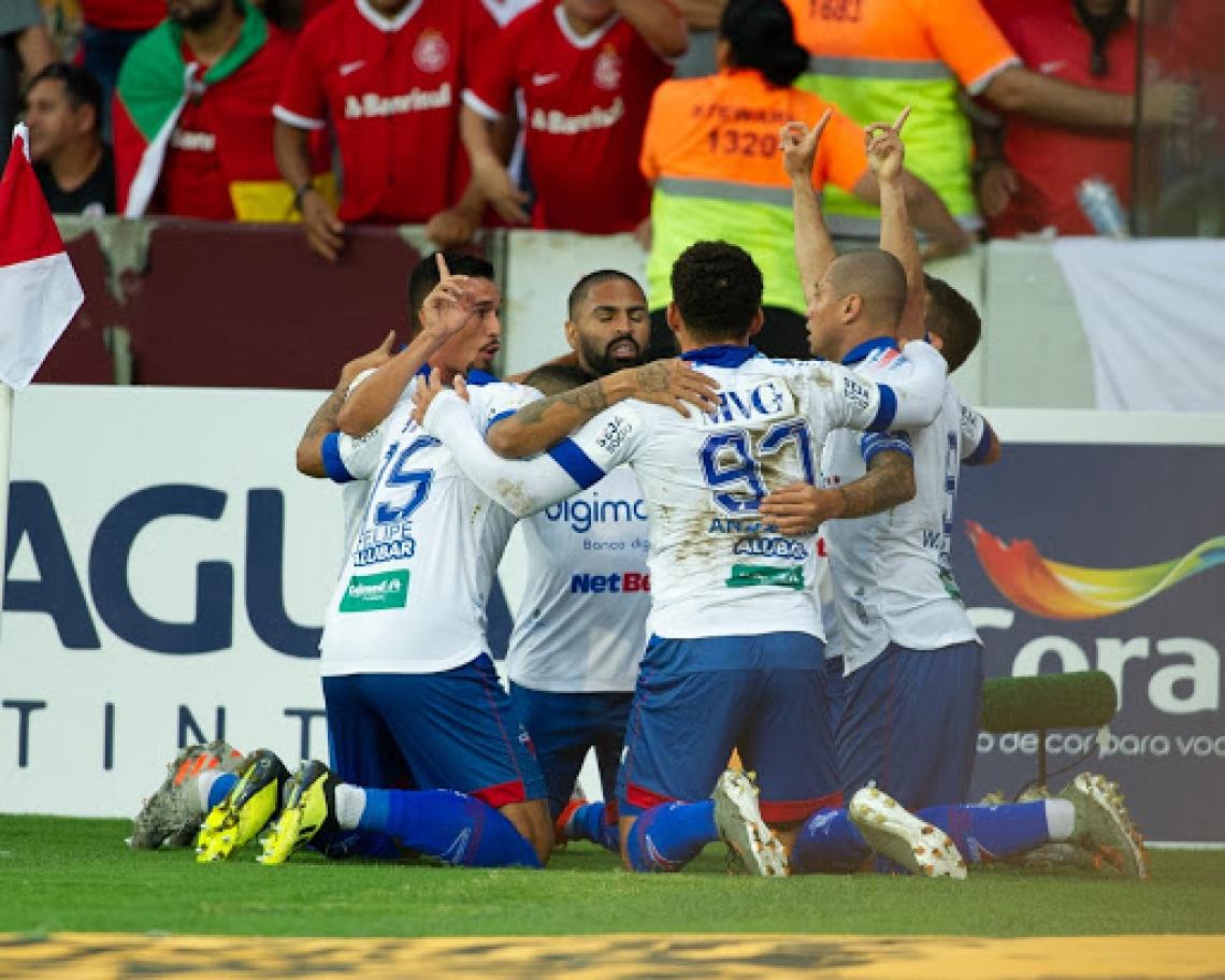 Fortaleza ficou perto da vitória, mas Bruno Melo perdeu pênalti aos 48 do segundo tempo. (Foto: Samuel Andrade/Divulgação)