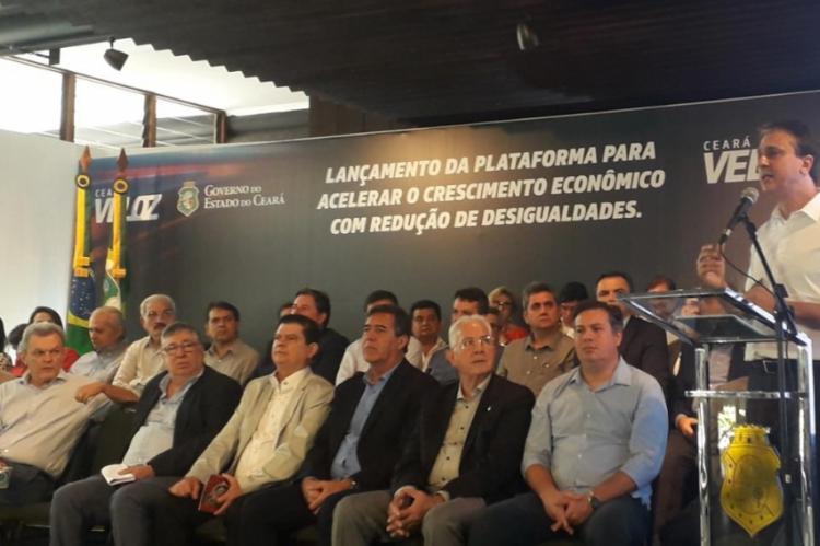 Camilo Santana fala sobre o programa Ceará Veloz
