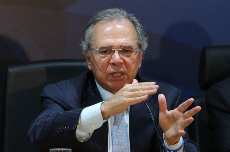 O ministro da Fazenda, Paulo Guedes.