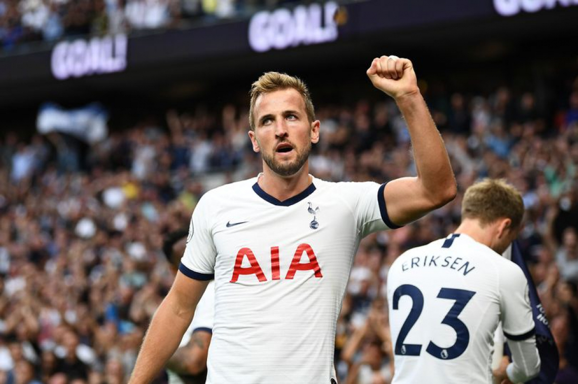 Kane está no Tottenham desde as categorias de base