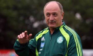 Último trabalho de Felipão foi no Palmeiras