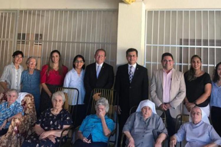 De acordo com o juiz Henrique Jorge dos Santos Falcão, titular da 1ª Vara, a visita possibilitou analisar medidas judiciais adequadas para as freiras.