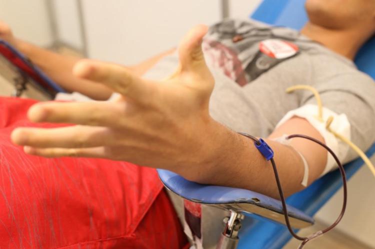 Uma doação de sangue pode servir para até três pessoas