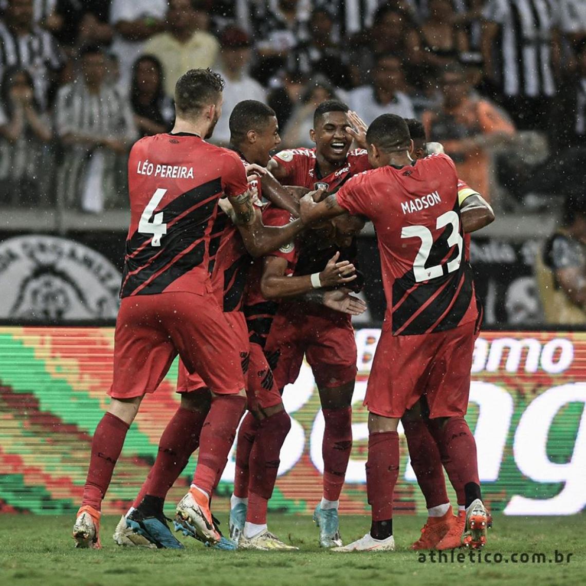 Athletico-PR tem a segunda melhor campanha do returno.