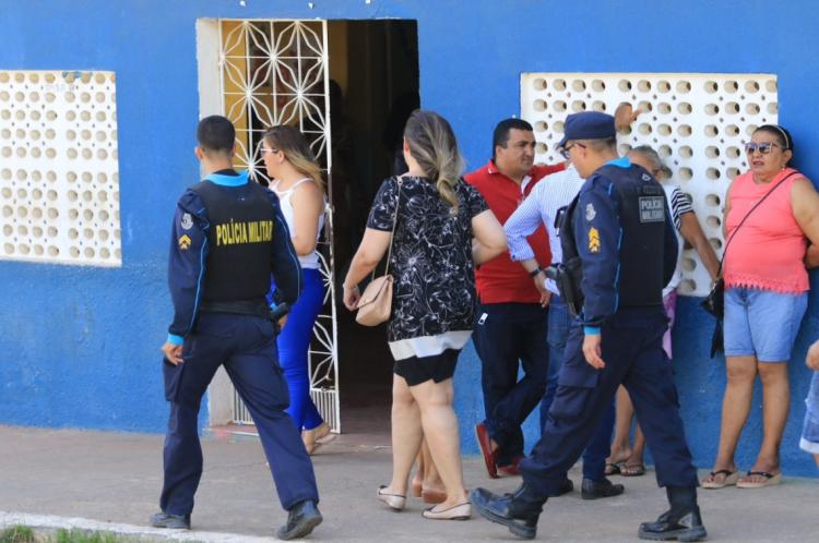 Polícia de Aracoiaba recebeu reforço do efetivo para lidar com dia de eleição