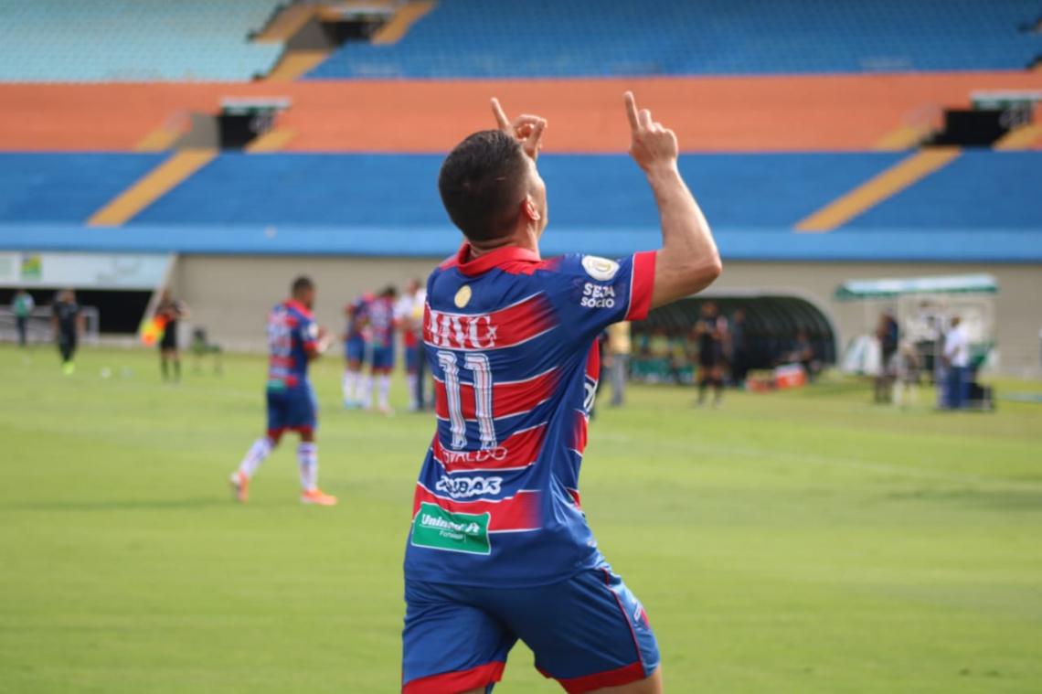 Osvaldo fez o segundo gol do Fortaleza