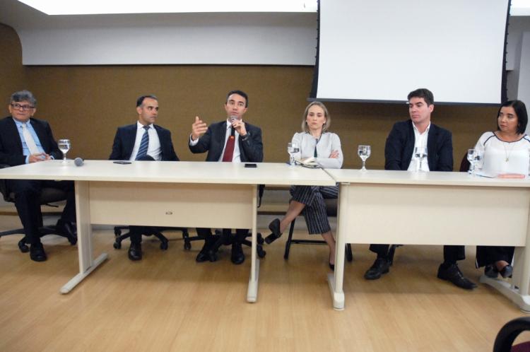 A Audiência foi promovida pela Secretaria da Fazenda do Ceará, pelo Ministério Público do Ceará e pela Procuradoria Geral do Estado