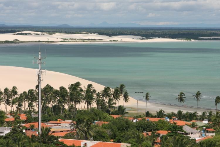 Jericoacoara também passará pelo projeto de saneamento (Foto: FCO FONTENENELE)