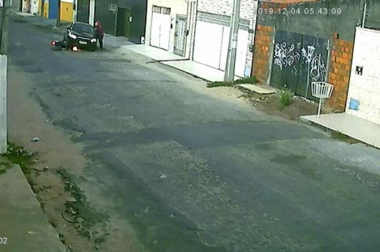 Câmeras de segurança flagraram o latrocínio e ajudaram os policiais civis a identificar os suspeitos
