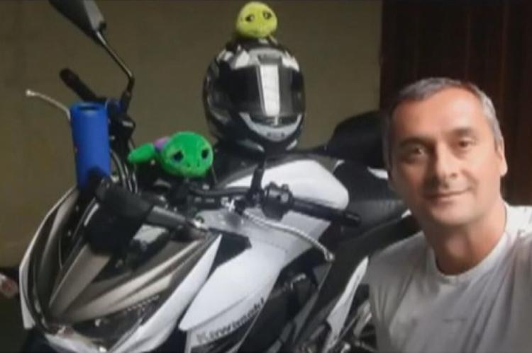 Paulo Roberto de Caldas Osório, suspeito de assassinar o filho de 1 ano e 11 meses