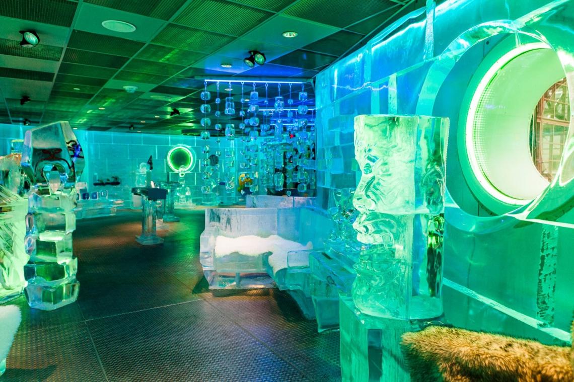 Frost Ice Loft, localizado em Boston, Massachusetts, Estados Unidos