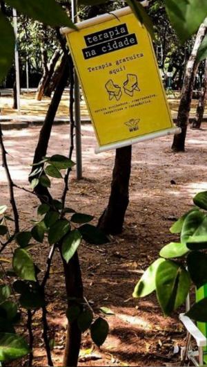 Instituto Biadote realiza escutas psicológicas em praças de Fortaleza