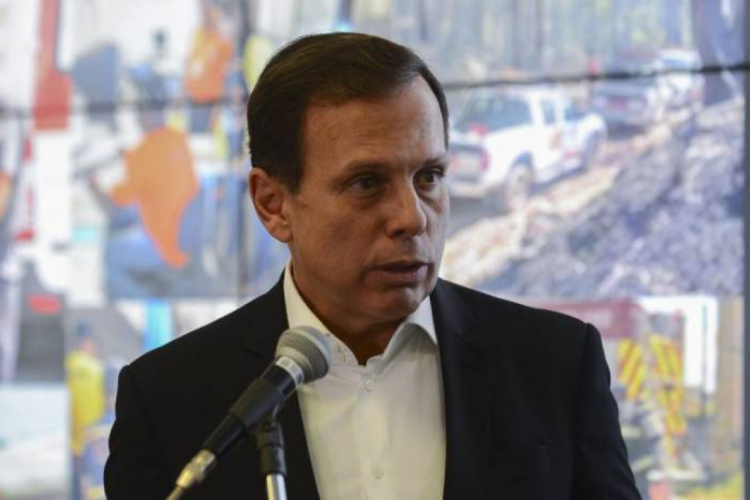 Governador de São Paulo, João Doria, anunciou a medida neste sábado, 21, em coletiva de imprensa no Palácio dos Bandeirantes, na Zona Sul da capital (Foto: Divulgação)