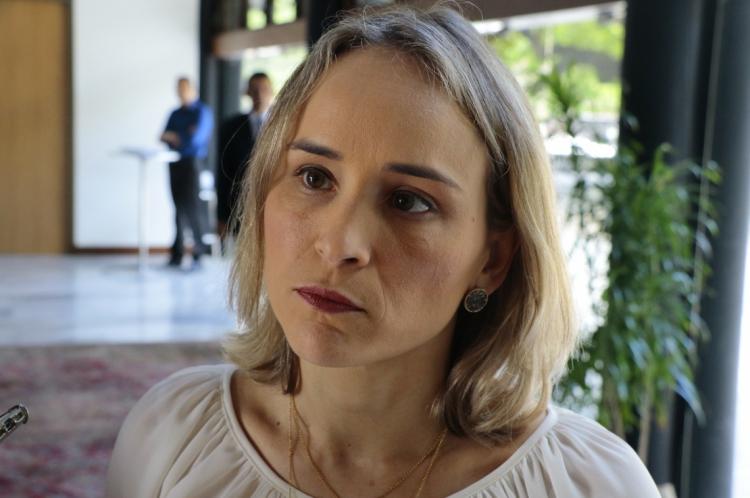 Fernanda Pacobahyba, titular da Secretária da Fazenda