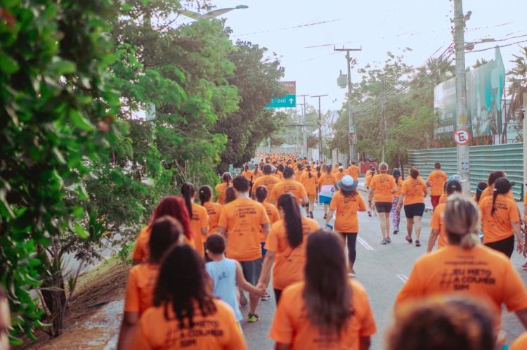A atividade integra os 16 Dias de Ativismo pelo Fim da Violência contra as Mulheres