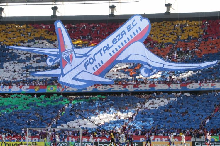 O Fortaleza disputa a Copa Sul-Americana pela primeira vez na sua história (Foto: JÚLIO CAESAR)