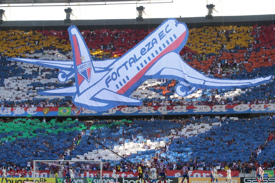 O Fortaleza disputará a Copa Sul-Americana pela primeira vez na sua história