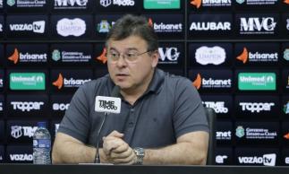 Robinson de Castro concedeu entrevista sobre a temporada do Ceará