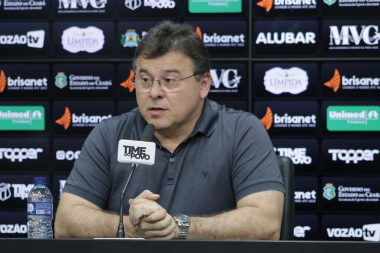 Robinson de Castro opinou sobre como a MP do Mandante pode beneficiar os clubes brasileiros (Foto: MARCELO VIDAL/Cearasc.com)
