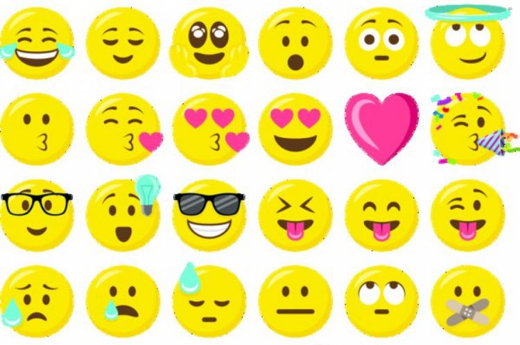 Emojis são usados para demostrar emoção