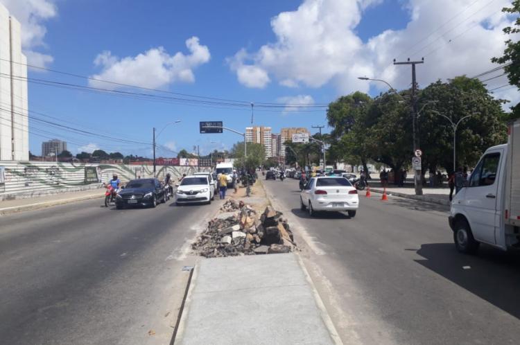 A requalificação acontecerá no trecho da avenida José Bastos compreendido entre as avenidas Senador Fernandes Távora e a Domingos Olímpio.