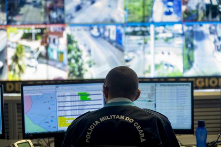 Câmeras de segurança controlam a mobilidade do crime