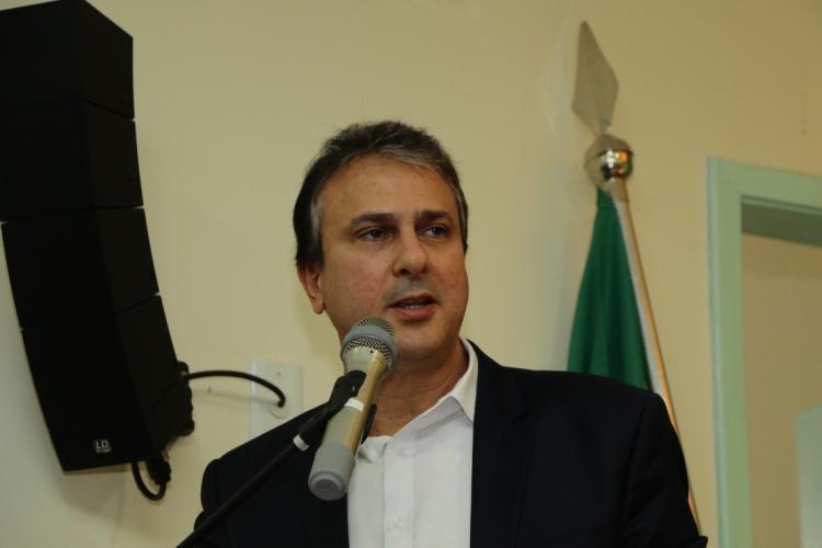 Governador Camilo Santana (PT) (Foto: MAURI MELO/O POVO)