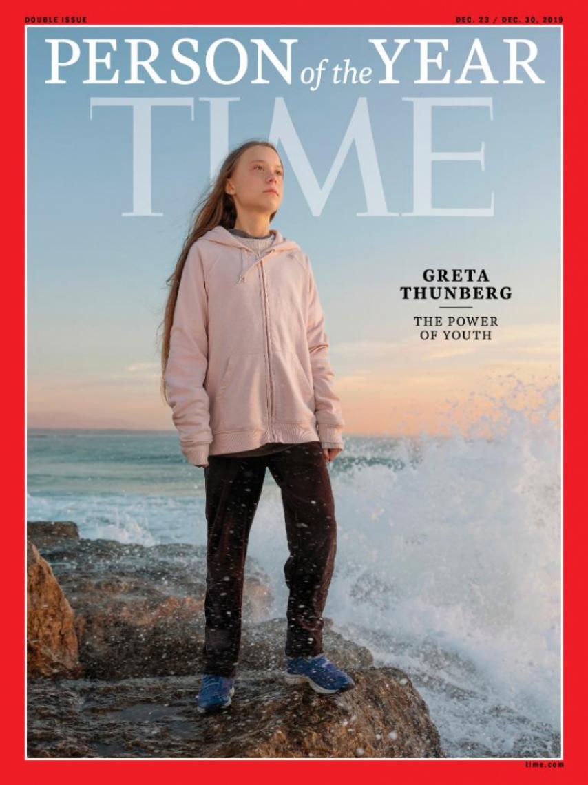 Greta Thunberg é eleita Pessoa do Ano 2019 pela Time