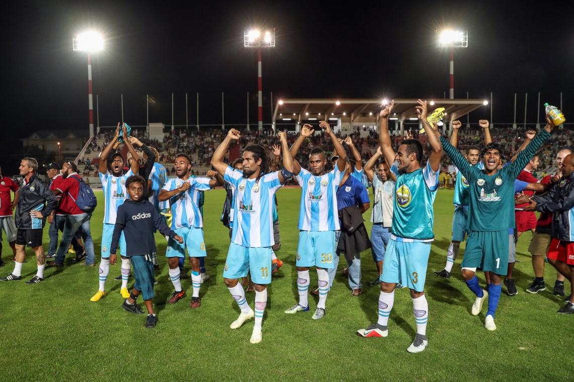 Hienghéne garantiu vaga no mundial após vencer a Champions da Oceania com gol marcado do meio campo