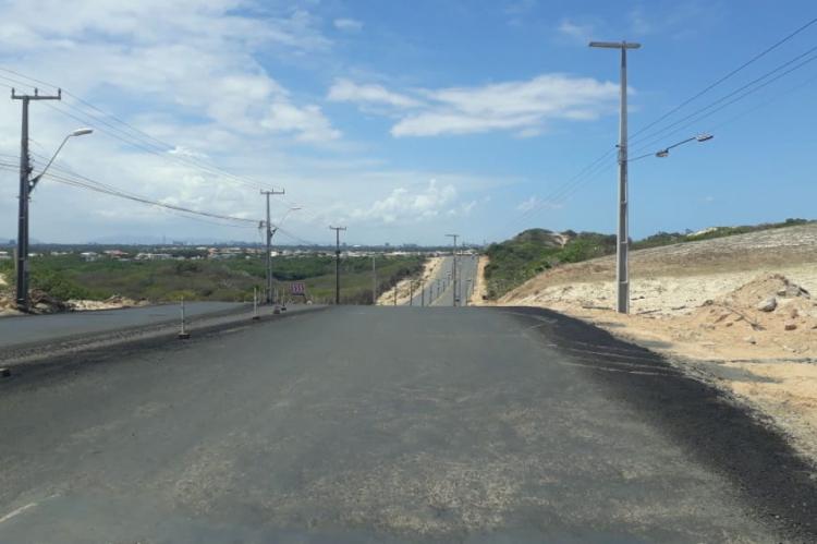Trechos da estrada já estão concluídos