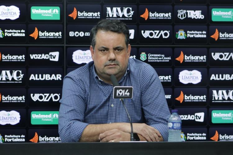 Jorge Macedo deu entrevista exclusiva para o Esportes O POVO  (Foto: MARCELO VIDAL/Ceará)