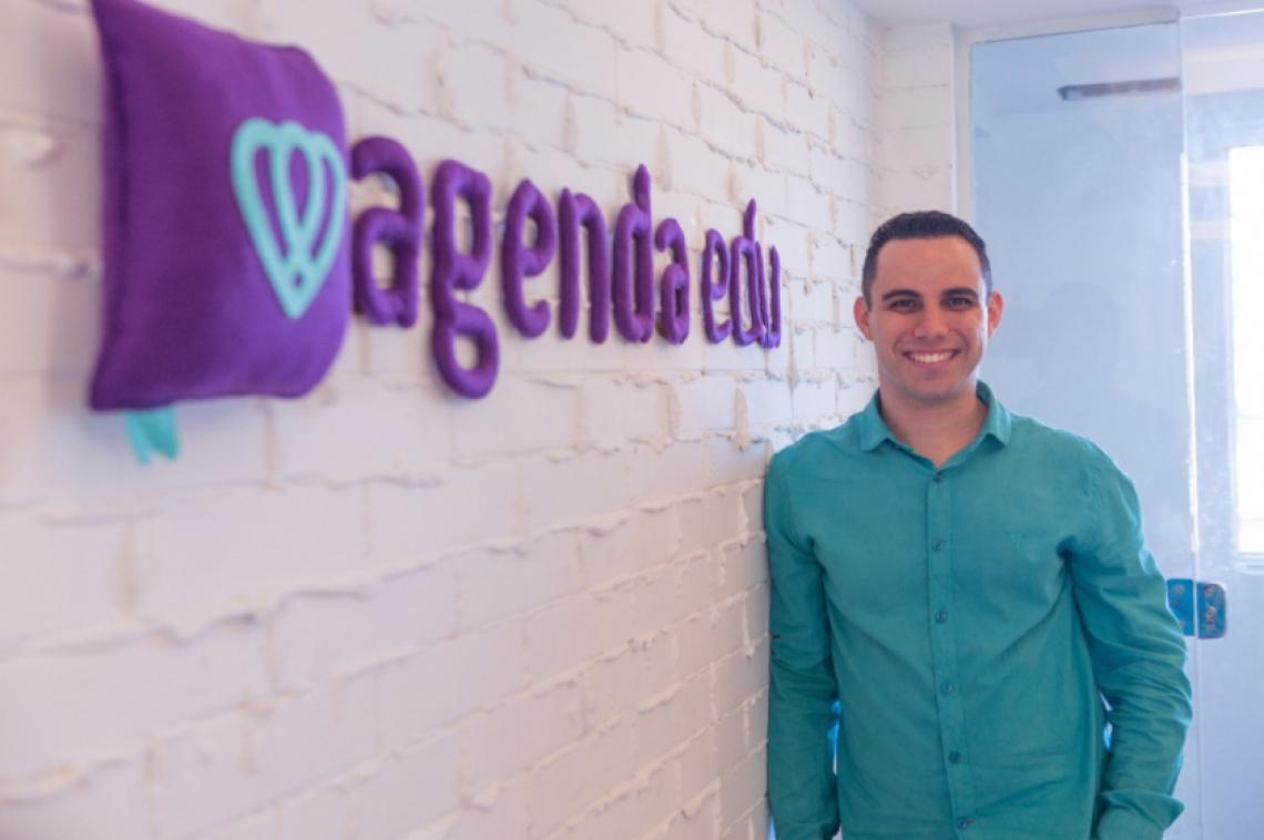 Anderson Morais, CEO da startup Agenda Edu