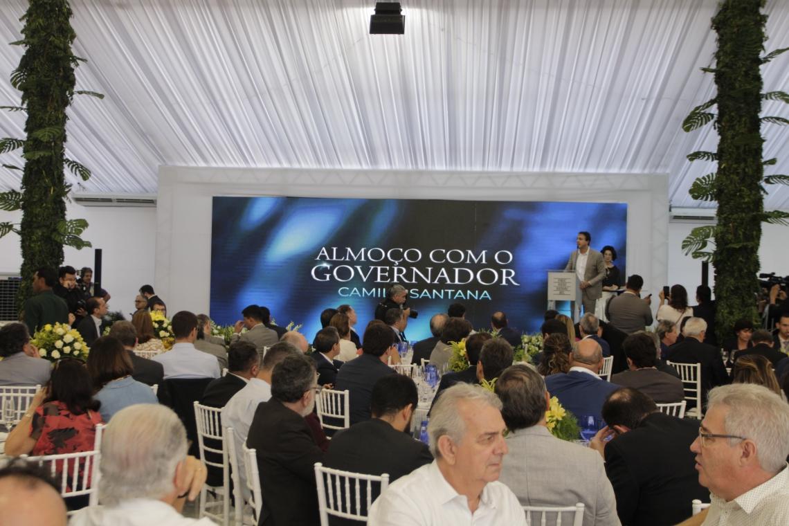 FORTALEZA, CE, BRASIL, 13-12-2019: Inauguração do novo prédio da Federação das Indústrias do Estado do Ceará - FIEC. O nome do prédio é Edíficio Beto Sturdart (Sandro Valentim/O POVO) (Foto: Sandro Valentim)