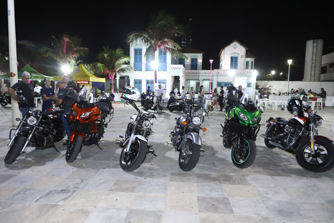 O Moto Encontro Iracema apresenta vários estilos de motos
