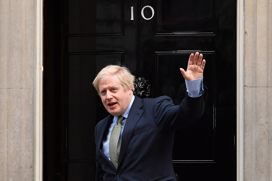 O premiê britânico, Boris Johnson, vai governar o Reino Unido com maioria absoluta