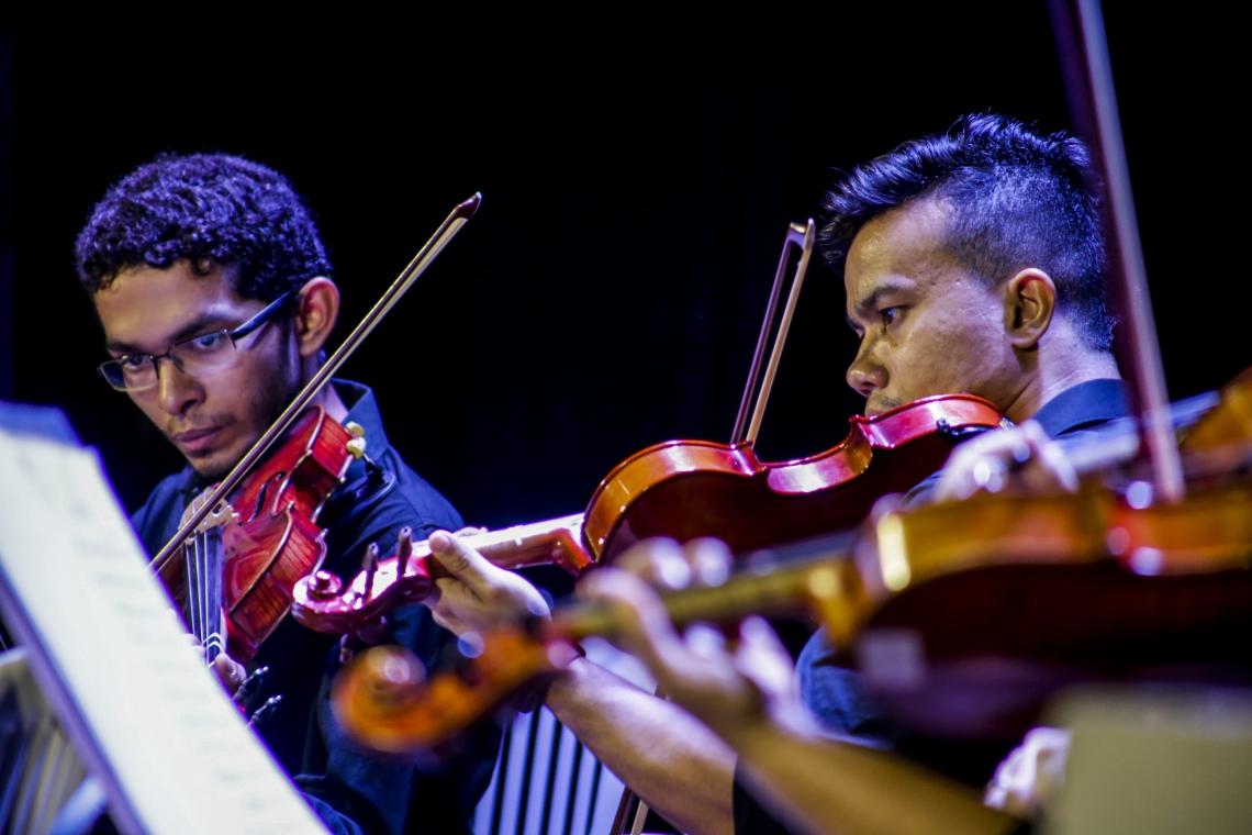 A categoria dos músicos também está contemplada pelo auxílio de R$ 1 mil
