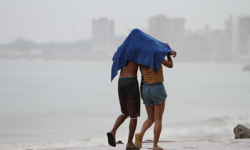 A chuva foi protagonista neste ano no Ceará