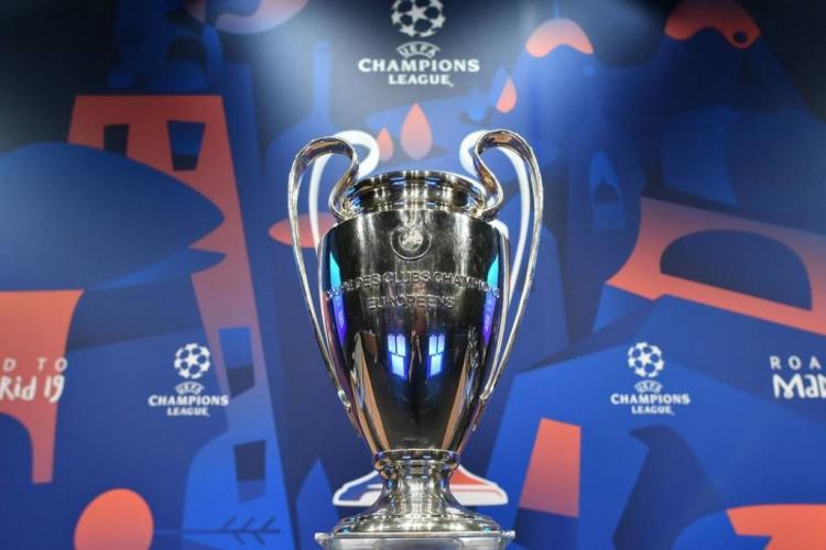Taça da Liga dos Campeões da Europa (Foto: AFP)