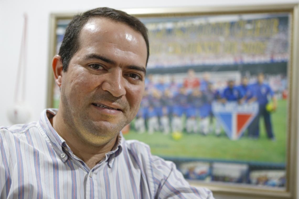 Marcelo Paz, presidente do Fortaleza, comemorou as novas formas de receita do clube