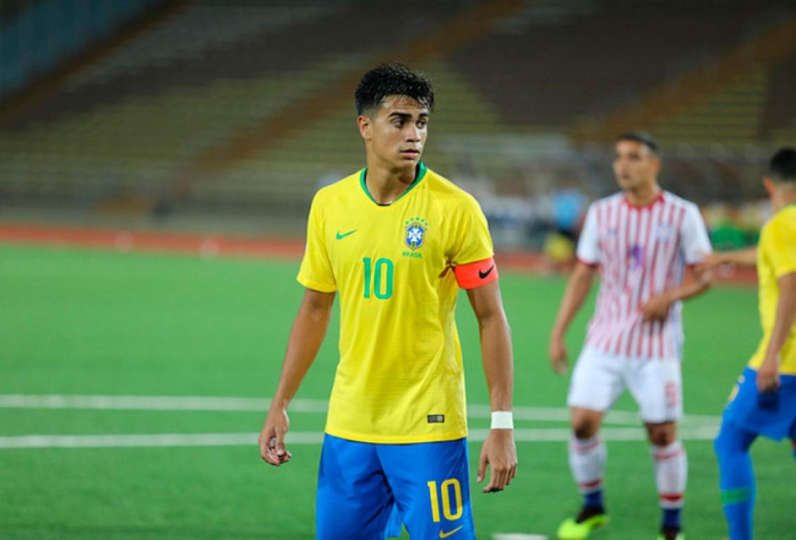 Reinier é convocado pela primeira vez para a seleção brasileira sub-23