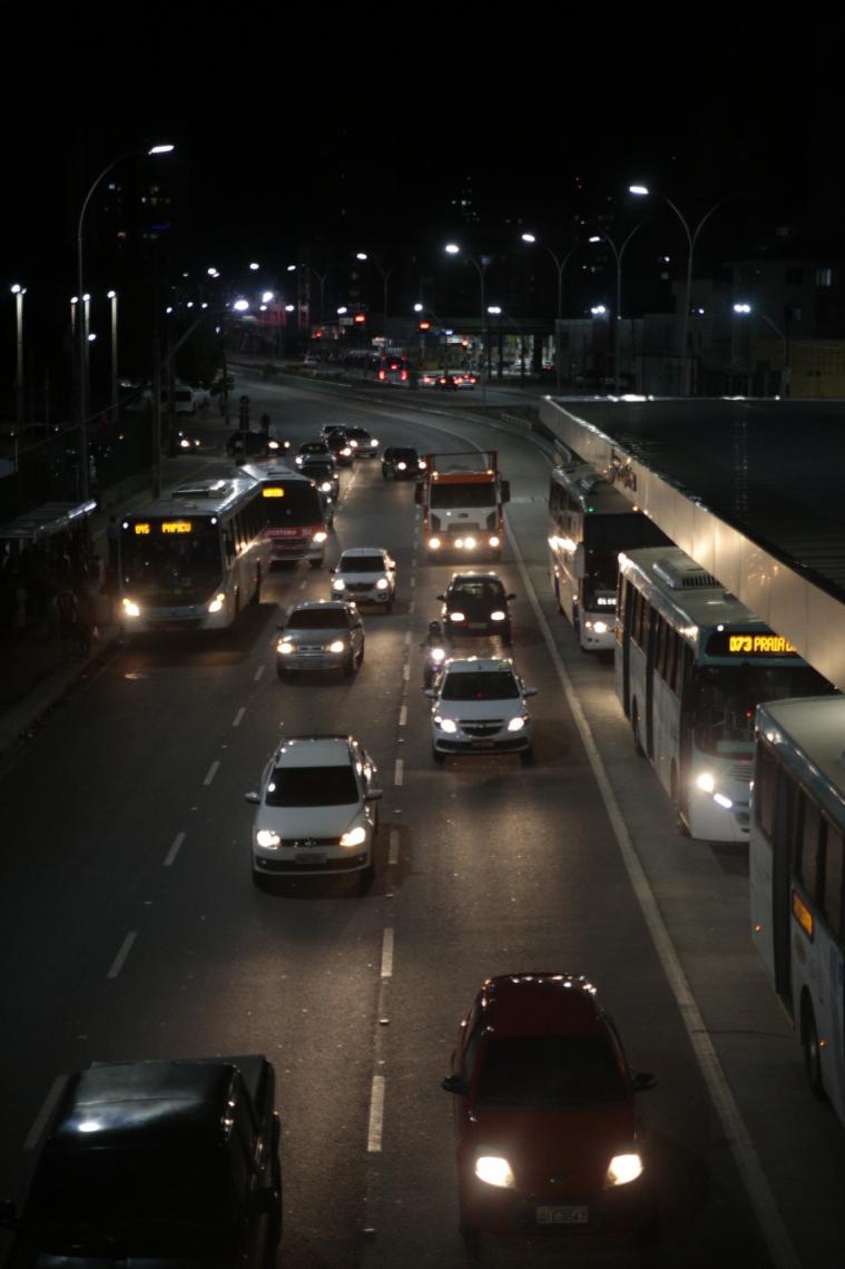 Em Fortaleza, a frota de veículos cresceu 1,7% em 2020. Já no Interior, o crescimento foi de 4,2%