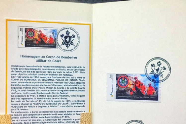 O selo foi lançado na manhã desta terça-feira, 17.