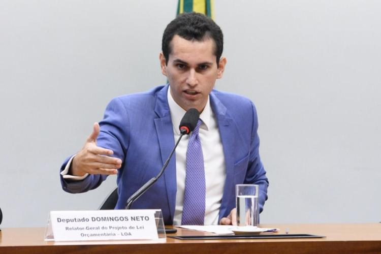 O deputado cearense Domingos Neto foi relator-geral do Orçamento da União em 2020 (Foto: Agência Câmara)