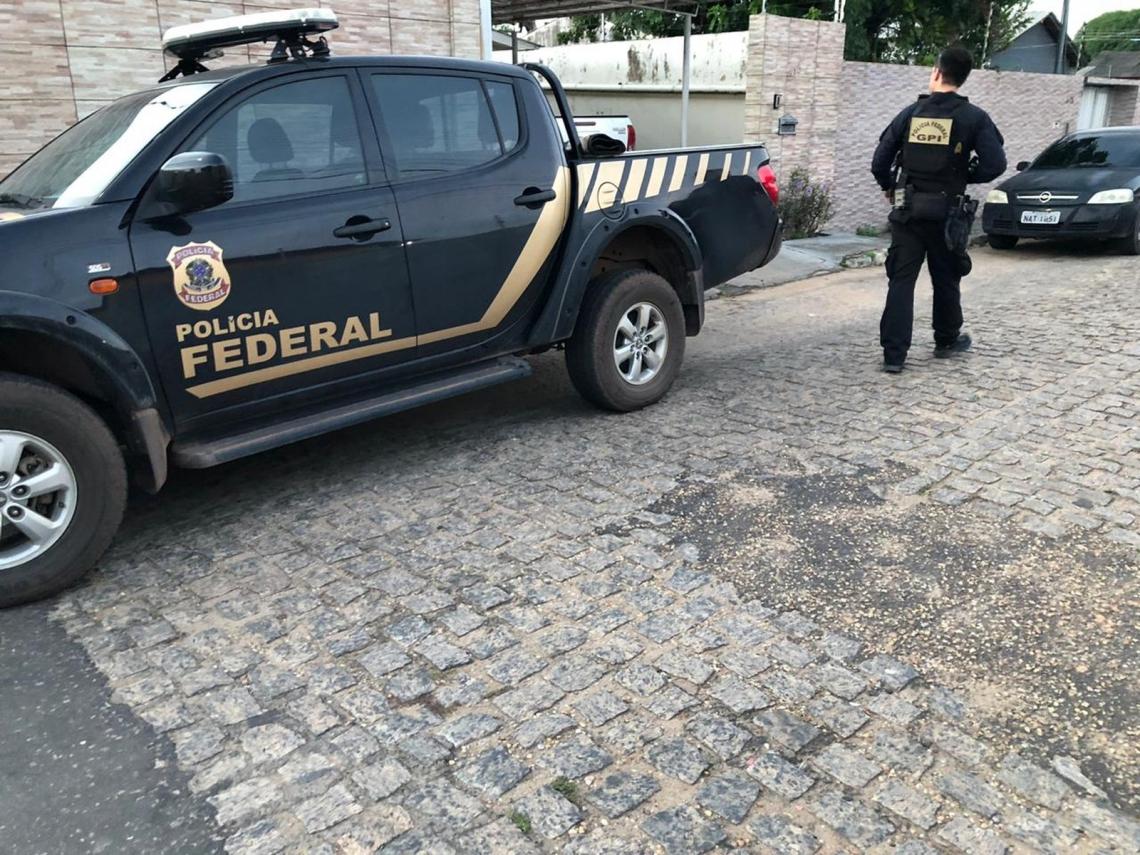 Policiais federais em ação (Foto: Divulgação/PF)